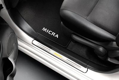 Einstiegleisten Micra K13 beleuchtet