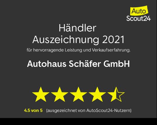 Beste Autohändler 2017 - AutoBild hat uns ausgezeichnet